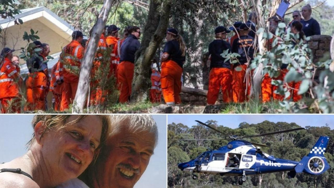 Missing hikers Trevor Salvado and Jacinta Bohan who disappeared at Mt Buffalo on Friday.