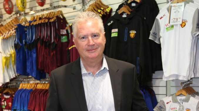 Brisbane Lions CEO Greg Swann at the GABBA. Picture: Annette Dew