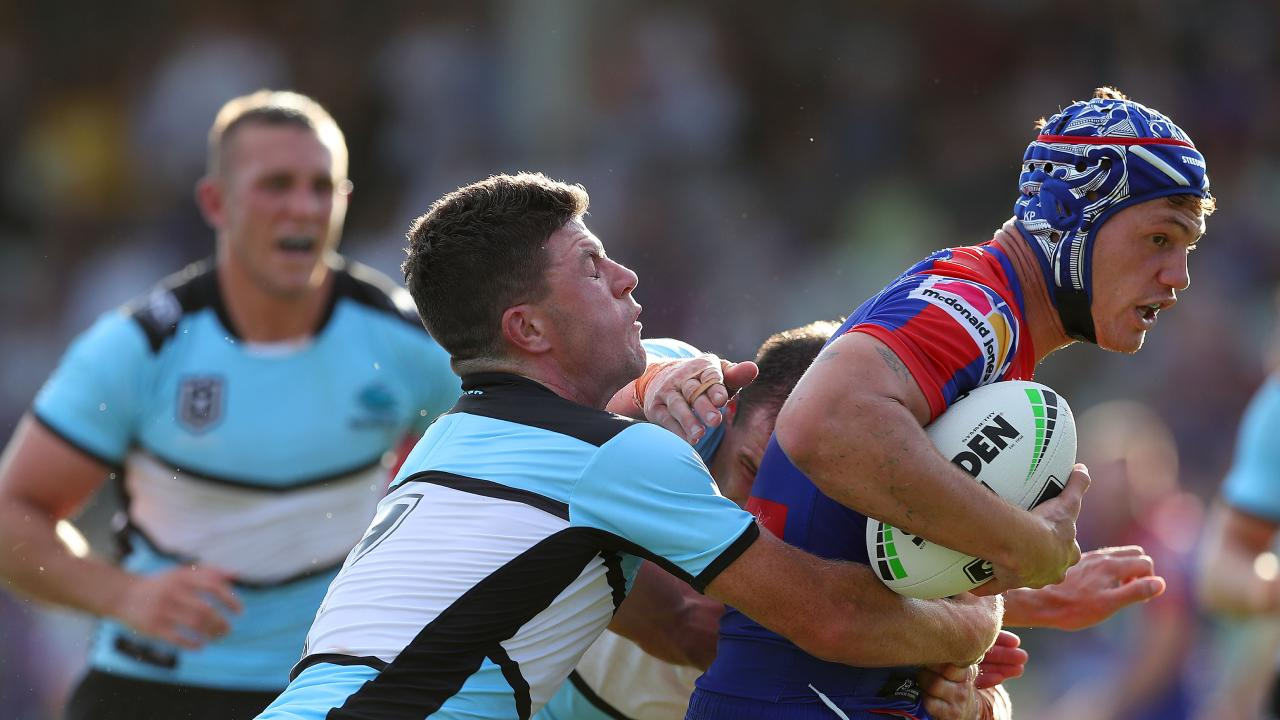 Much of the Knights' potential success will revolve around star Kalyn Ponga's transition to the halves. Picture: Getty