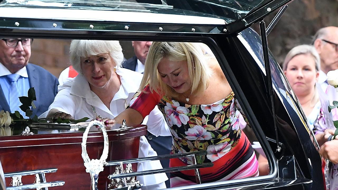 Kerri-Anne Kennerley has farewelled her husband John. Picture: AAP Image/Joel Carrett