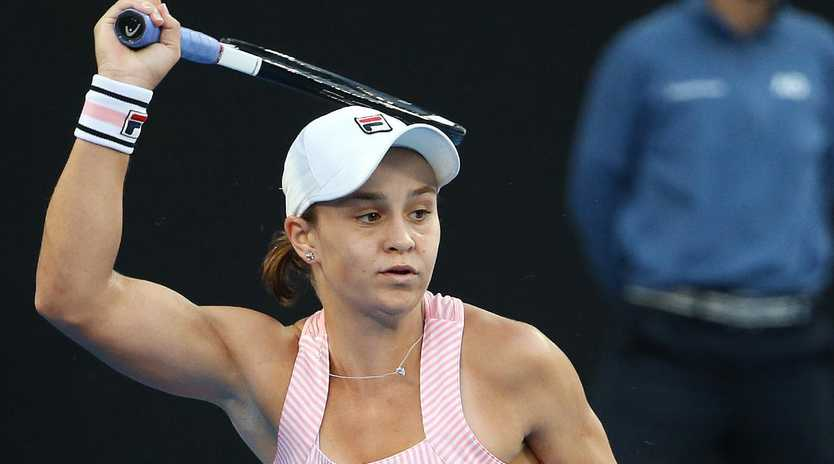 Barty looks to be in serious form. Image: Michael Klein