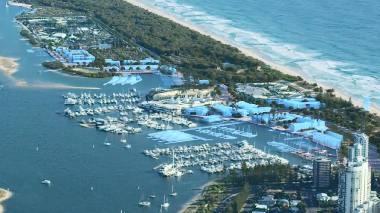 Gold Coast Spit masterplan artist impressions