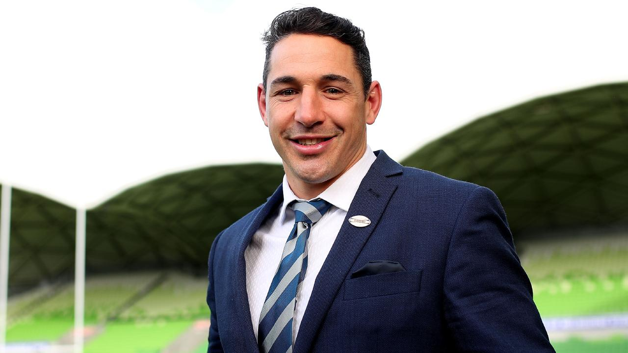 Billy Slater will be honoured at AAMI Park on Thursday night. (Photo by Graham Denholm/Getty Images)