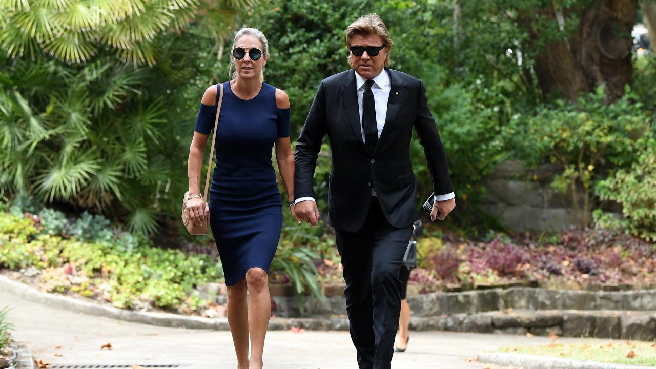 Virginia Burmeister (left) and Richard Wilkins also attended. Picture: Joel Carrett
