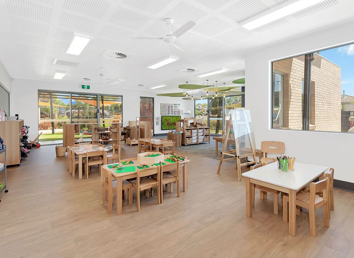 Childcare centre for sale in Kearneys Spring, through  Burgess Rawson.