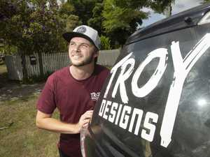 Troy has designs on business success