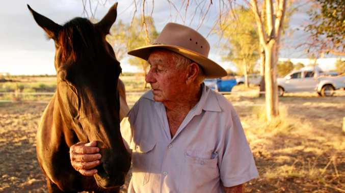 MITCHELL LEGEND: Johnny Murray and his horse Minnie will be remembered forever.