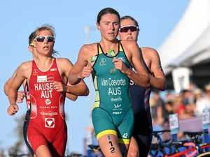Fired up to race the best at Mooloolaba Tri