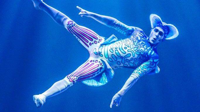 A scene from the Cirque du Soleil show Kurios - Cabinet of Curiosities.