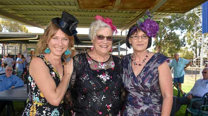 Susan Jacobs, Lenore Gordon, and Kyleigh Bailey.