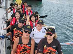 DRAGON BOATS: Club buys new equipment thanks to grant