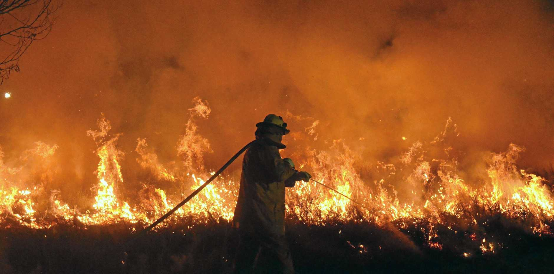 The Rural Fire Service has urged residents to heed the suspension of permits as very high fire dangers persist.