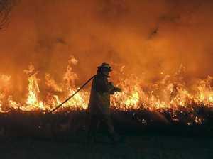 Backburns planned as firefighters struggle to control blaze