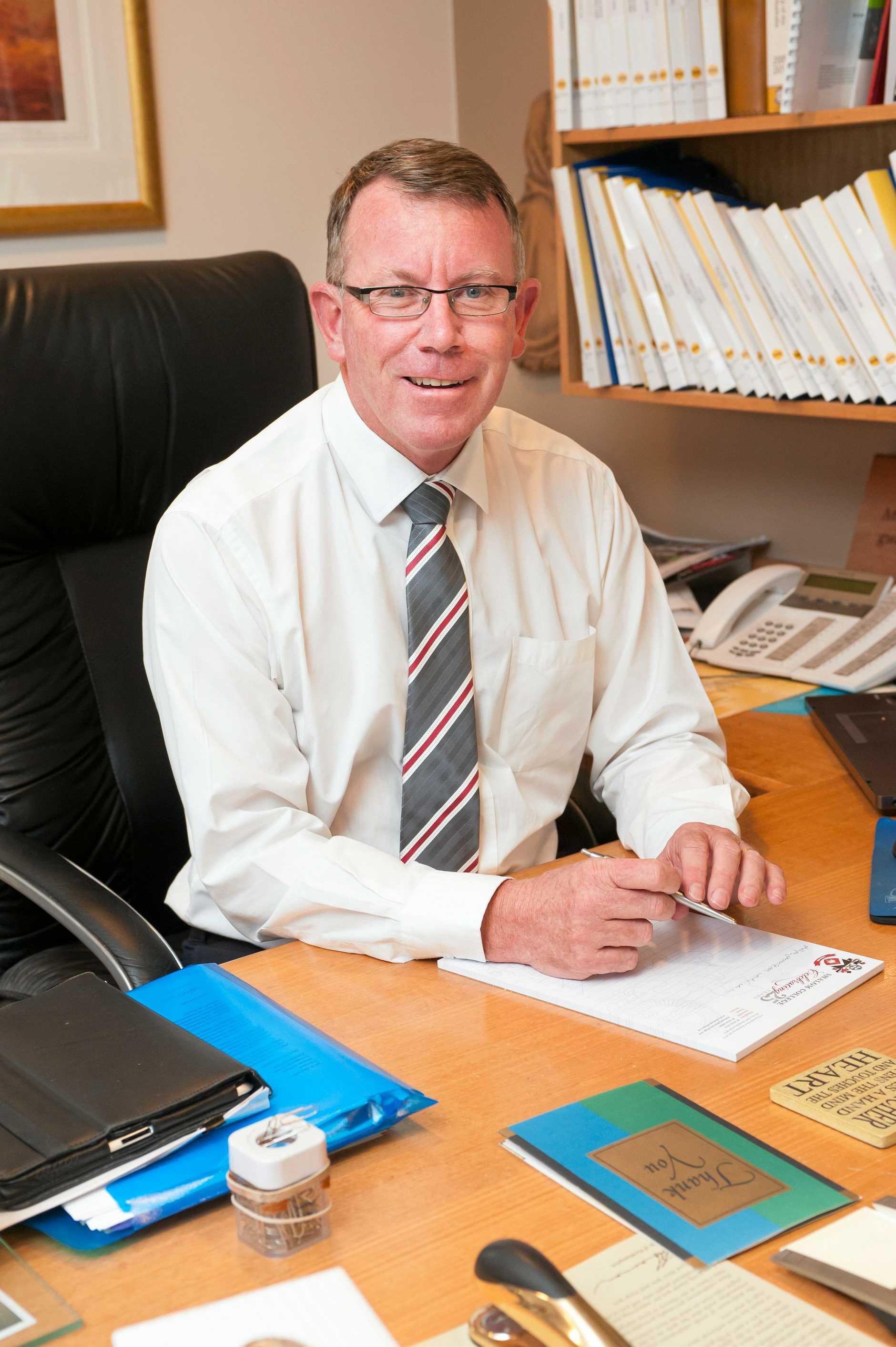 Principal Dan McMahon.  Photo: Contributed