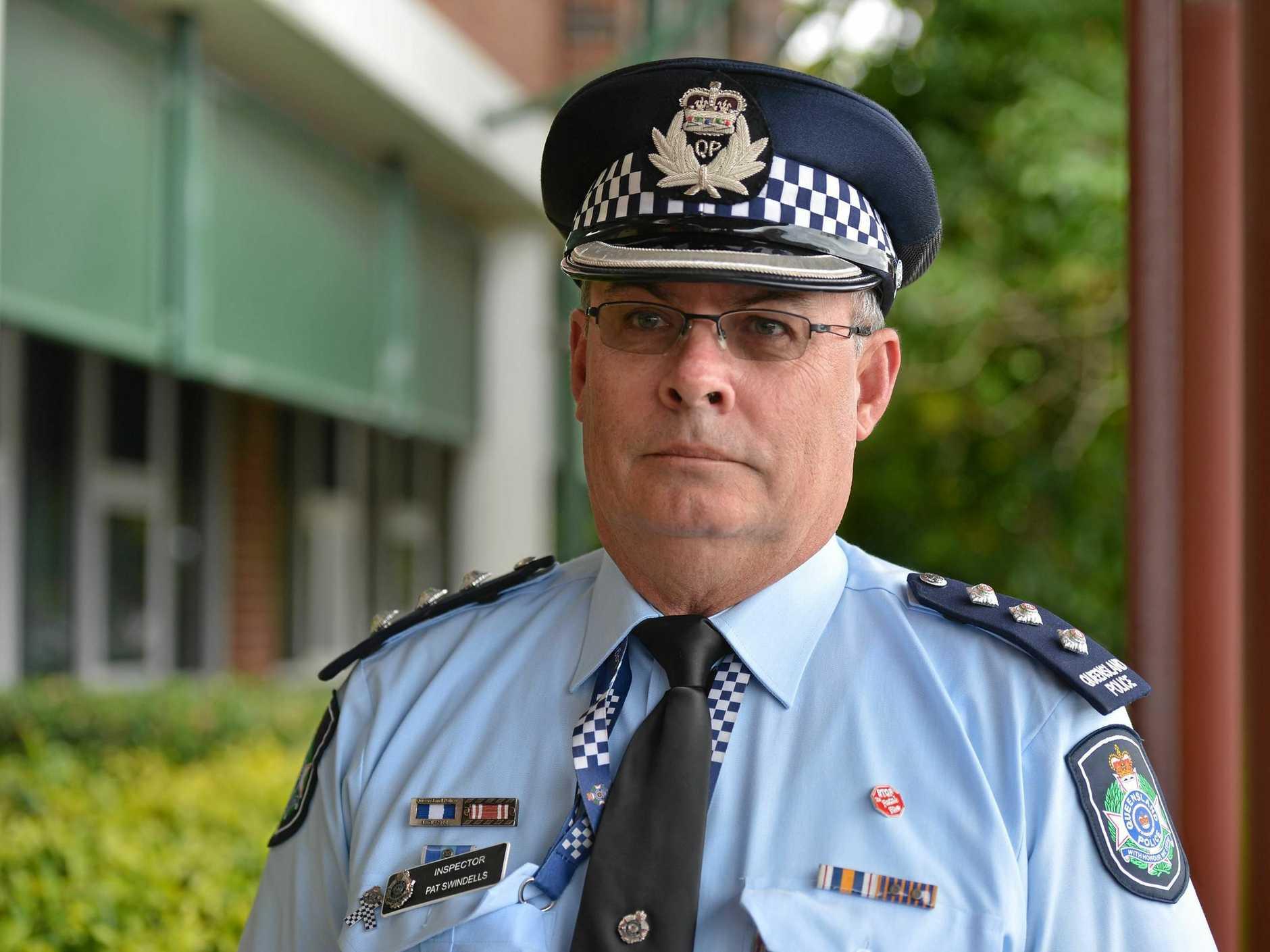 Inspector Pat Swindells.