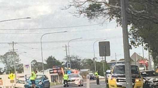 RTC: QAS respond to a three vehicle RTC in North Bundaberg this morning.