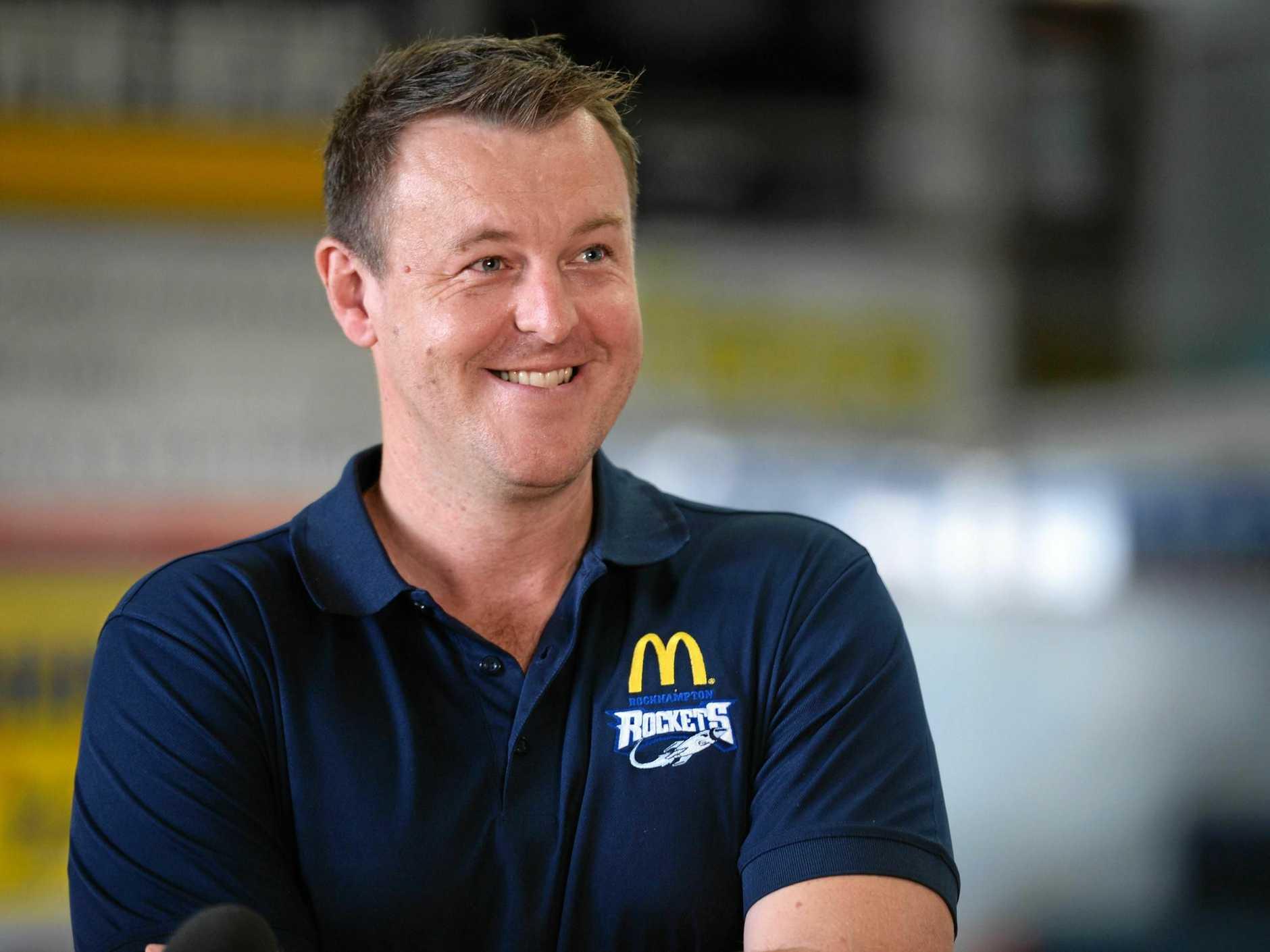 Cameron Tragardh, General Manager of Rockhampton Basketball.