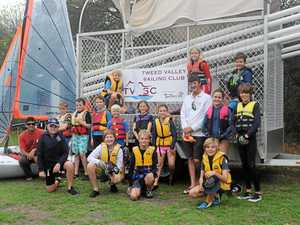 Eight is great for junior sailing