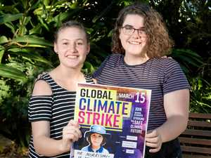 Schoolkids strike for their future