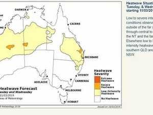 Low-intensity heatwave for Biloela region