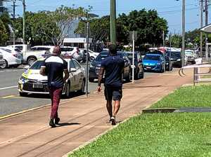 Ben Barba leaves Mackay Police Station