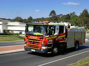 Shed blaze sparks grass fire, smoke warning in Somerset