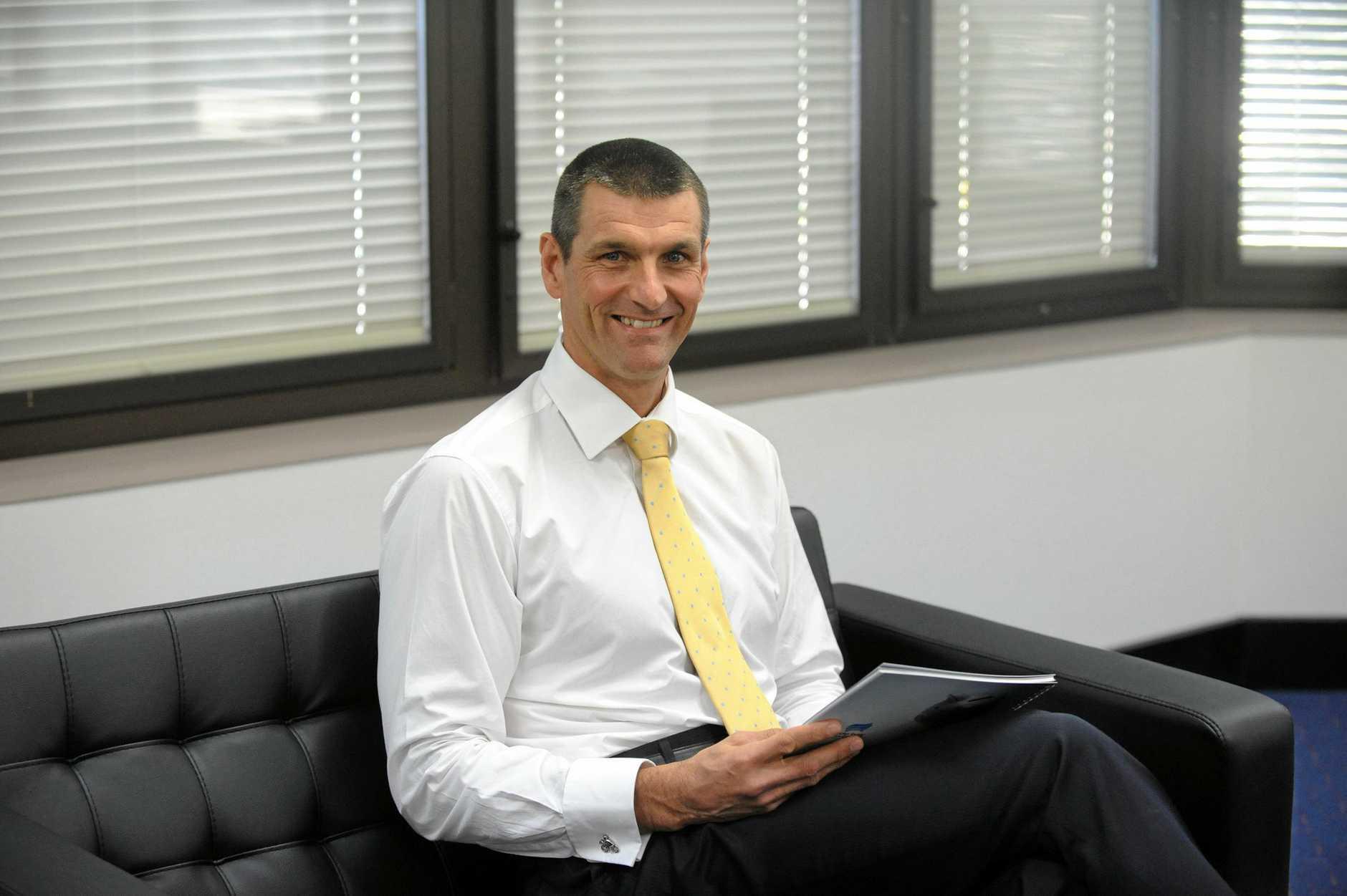 Wide Bay Australia chief executive officer Martin Barrett.