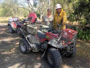 National park fire rips through cattle-grazing property
