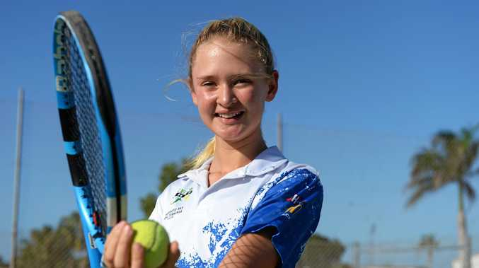 The new mini courts could help Pioneer Tennis Inc produce quality athletes like Cara Botha who was part of the QLD team which won the Bruce Cup.