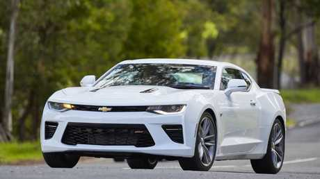 The Chevrolet Camaro is seriously quick.