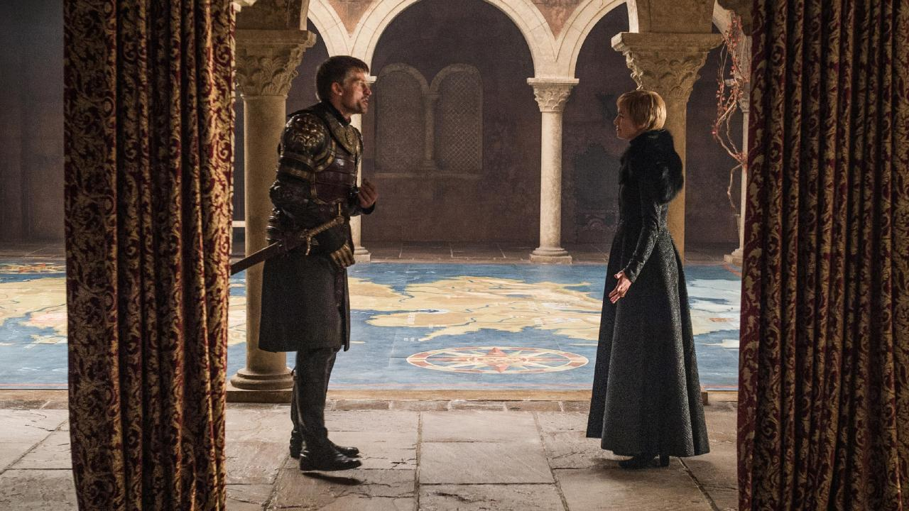 Jaime and Cersei face off.