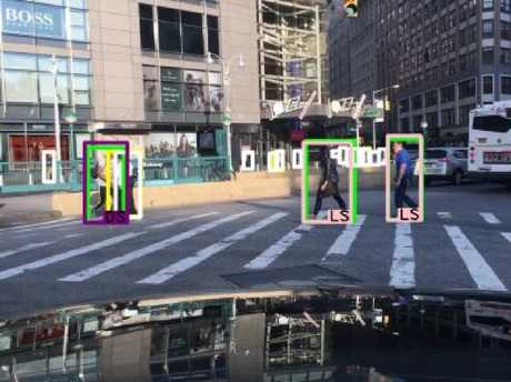 The study found the detection technology was less accurate when identifying dark skinned pedestrians. Picture: Predictive Inequity in Pedestrian Detection