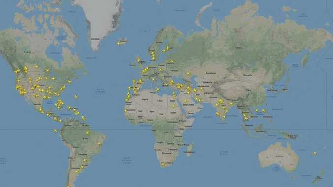 Boeing flights have been grounded in China. Picture: Flightradar24