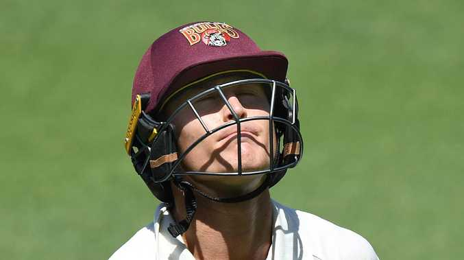 The Gabba proved to be a batman's graveyard once again as 17 wickets fell on one day of the Sheffield Shield that featured Test incumbents and hopefuls alike.