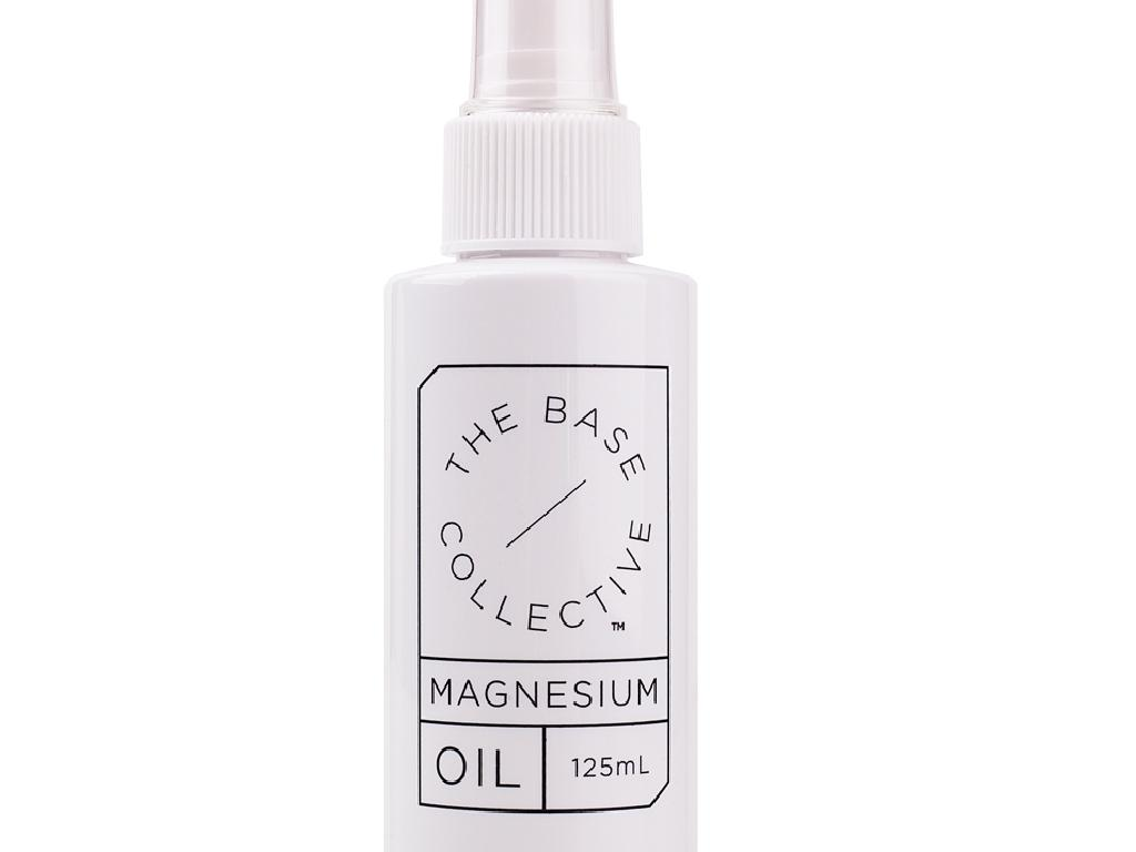 Thee Base Collective Magnesium Oil, which is popular with their Chinese customers. Picture: Supplied