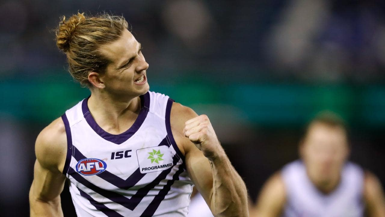 Nat Fyfe was Robbo's No.1. (Photo by Adam Trafford/AFL Media/Getty Images)