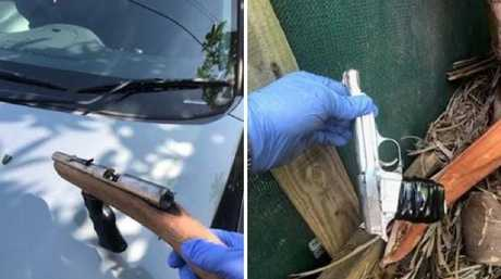 Police have raided six homes across the Gold Coast and Logan in a separate two-day operation, finding drugs. Picture: supplied