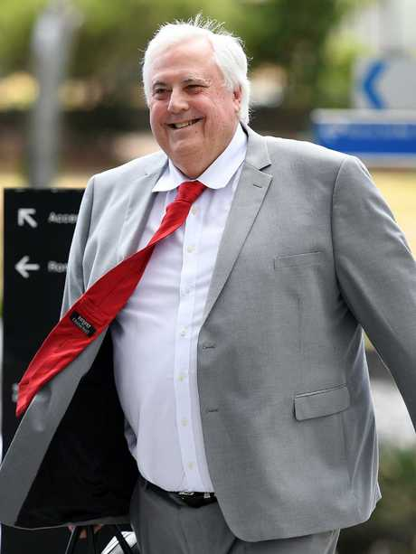 Clive Palmer leads the United Australia Party. Picture: AAP