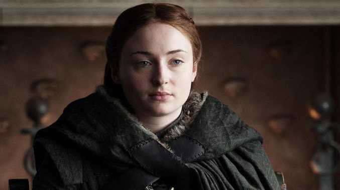 Here's where we left off with Sansa Stark and all the Game of Thrones gang in season 7. Picture: FOXTEL.