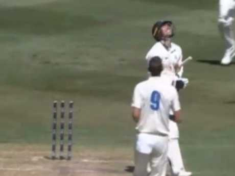 James Pattinson's freak dismissal.