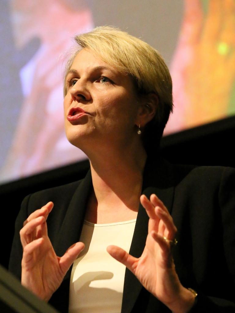 Labor Deputy Opposition leader Tanya Plibersek. Pic Colin Murty The Australian.