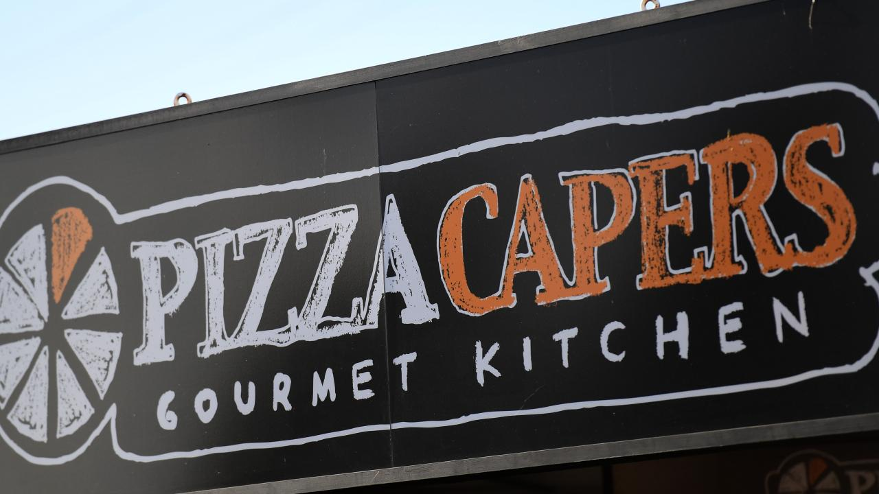 Pizza Capers is also up for sale, along with Crust.