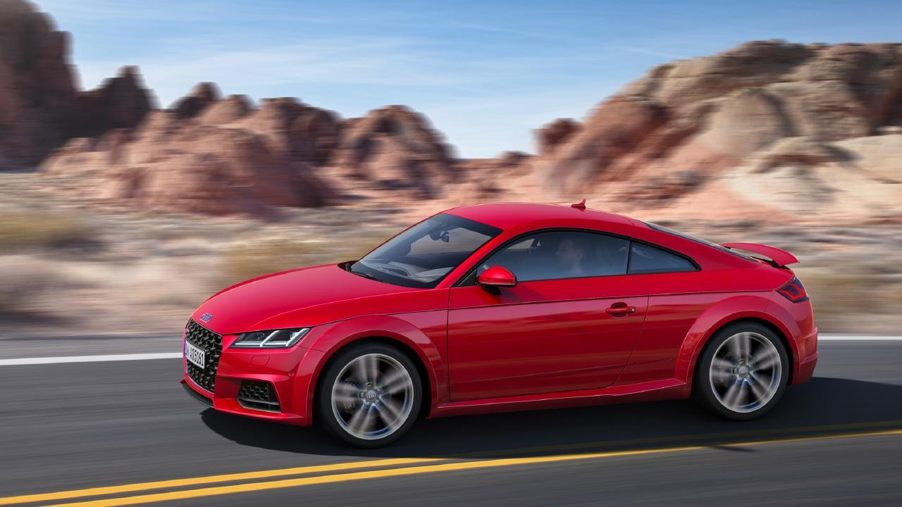 Audi TT coupe.