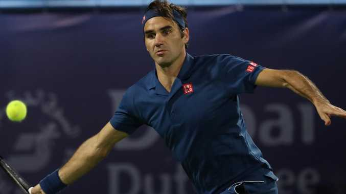 Snubbed by Djokovic, Switzerland's Roger Federer is not happy. Picture: KARIM SAHIB/AFP