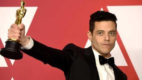 Rami Malek won the Oscar for Best Actor for Bohemian Rhapsody.