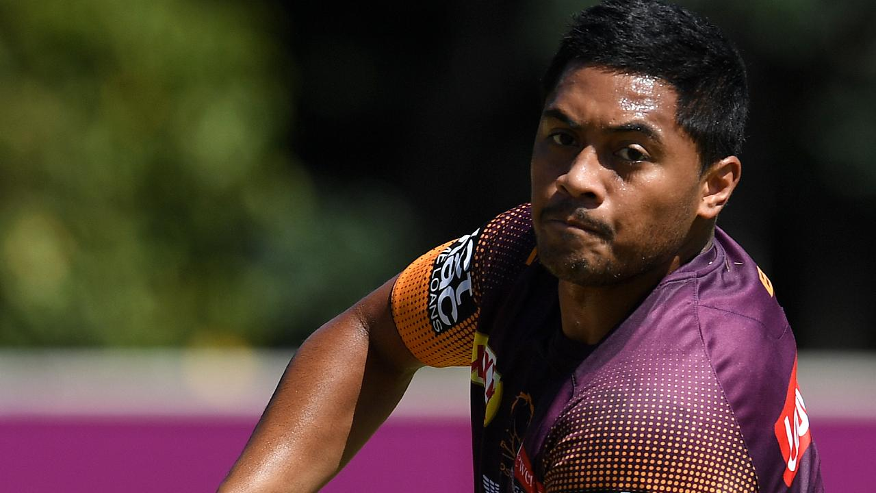 Anthony Milford could be a big improver for Brisbane. AAP Image/Dan Peled.