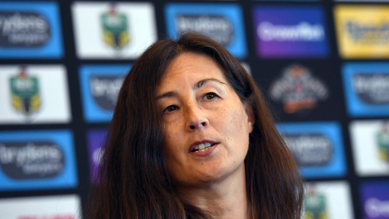 Wests Tigers chairwoman Marina Go will leave the club on Monday. Picture: AAP
