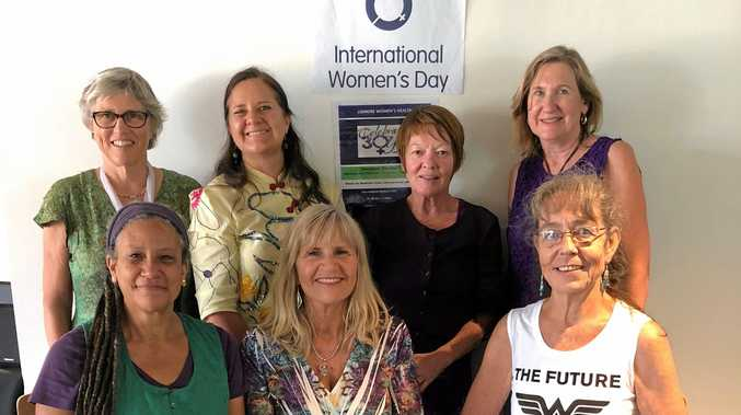 FEMINISM: Team from The Lismore Women's Health Centre who took part in intersectional panel discussion on Feminists and Feminism at Lismore City Hall as part of the 2018 Lismore Women's Festival.