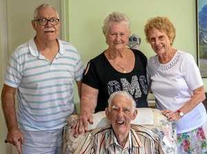 Recognising 98 yr old Frederick Stanley Sandell's career