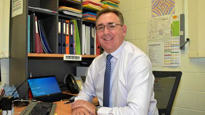 PROUD PRINCIPAL: Laidley State High School Principal Michael Clarkson is delighted with the results.